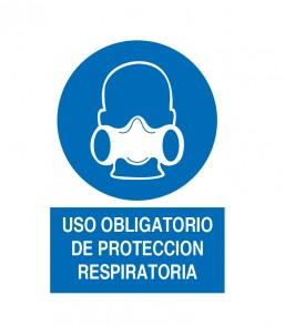 USO OBLIGATORIO DE PROTECCION RESPIRATORIA